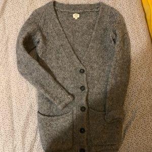 Aritizia Wilfred Wool Cardigan with Alpaca wool